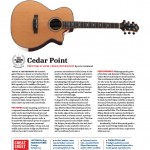cedar point guitar world review