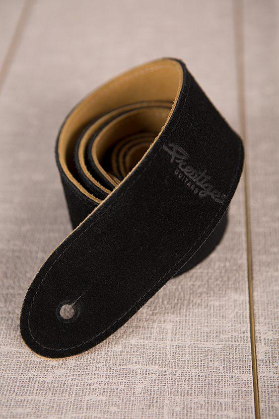 Prestige Strap - Black Suede