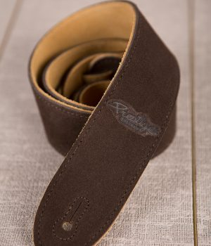 Prestige Strap - Dark Brown Suede