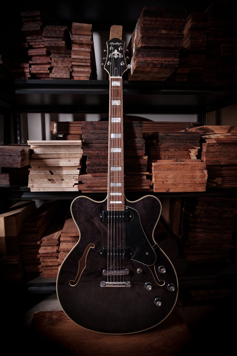 Custom Shop Musician Pro DC Trans Black