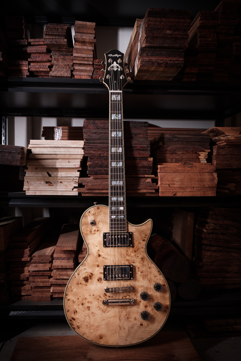 SOLD OUT<br />Custom Shop Poplar Burl Maple