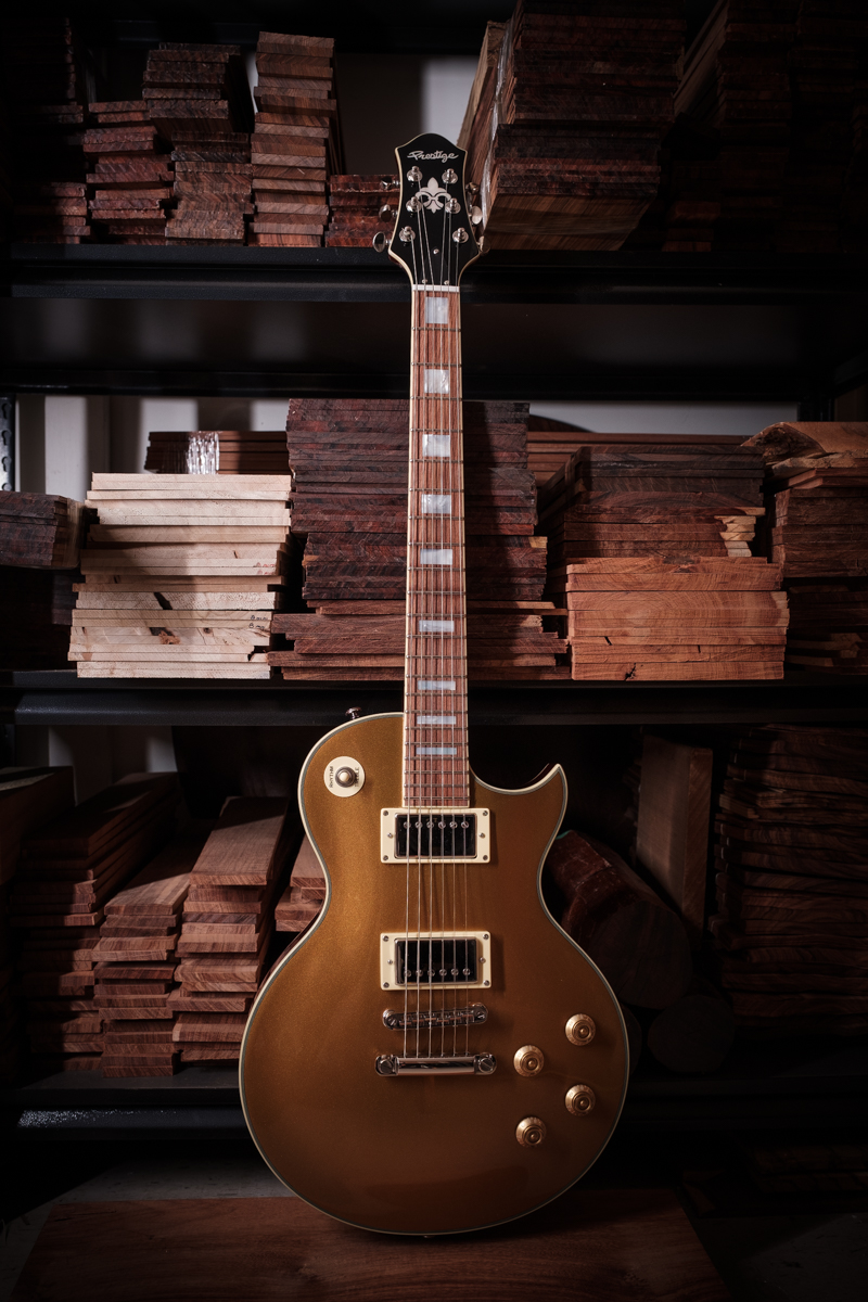 Custom Shop Heritage Standard Gold Top