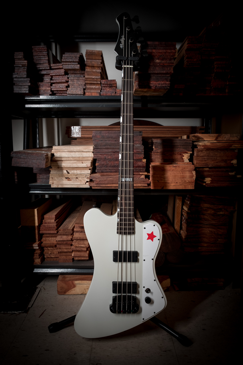 Custom Shop Todd Kerns Antistar IV White